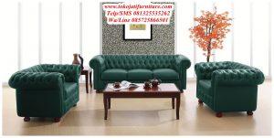 Sofa Tamu Jati Mewah Modern