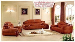 sofa tamu sudut antik modern