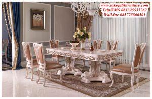 Meja Makan Klasik Baroque