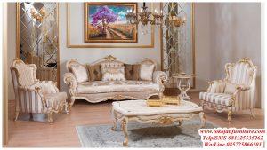 desain sofa tamu mewah