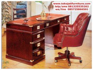 meja kantor jati terbaru
