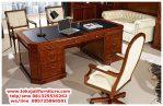 meja kantor klasik jati jepara