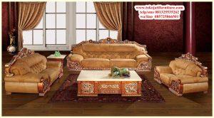 sofa tamu jati minimalis klasik