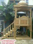 Mimbar-Jati-Masjid-Terbaru-Jepara