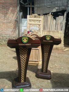Mimbar Podium Jati Tentara RI