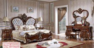 tempat tidur jati ukiran barocco