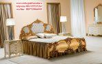 tempat tidur ukir pandora mewah