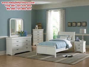 set tempat tidur anak duco modern