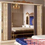 set tempat tidur jepara ukiran modern klasik