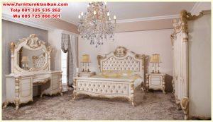 set tempat tidur model classic Jepara