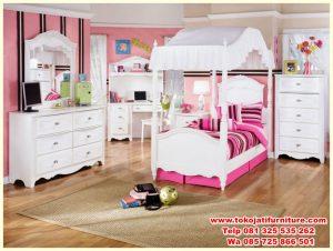 set tempat tidur anak duco kanopi