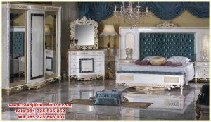 set tempat tidur ukiran jepara luxury