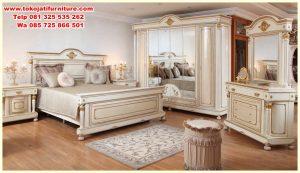 set tempat tidur modern jepara antik