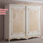 set tempat tidur classic cream duco putih